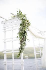 wedding arch garland fern and eucalyptus wedding arch garland