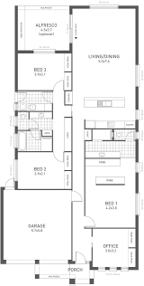 open living floor plans design fifteen floorplan from the weeks and macklin homes choice