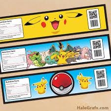 template elegant pokemon birthday invitation ideas with card