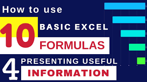 Excel Spreadsheet Courses Online Excel Tutorial How To Use Excel Online Excel Formulas 10