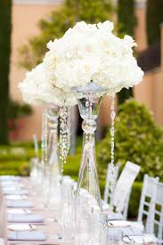 white centerpieces centerpiece roundup bead strands add sparkle to wedding