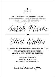 simple wedding invitations wedding invitations match your color style free