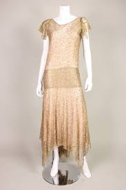 gold party dress 1920 s metallic gold lace party dress at 1stdibs