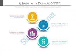 achievements ppt sample download powerpoint presentation