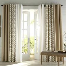 Curtain Patio Door Patio Door Drapes Best Patio Door Curtains Ideas On Sliding Door