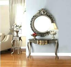 hallway table and mirror sets table and mirror set winning hall console table and mirror set or