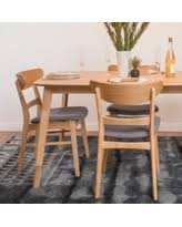 Noble House Dining Chairs Bargains On Noble House Janine Light Grey Fabric Dining Chair Set