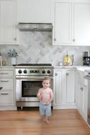 Herringbone Kitchen Backsplash 82 Best Backsplashes Images On Pinterest Kitchen Ideas Kitchen