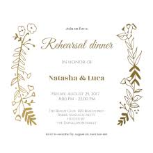 Wedding Rehearsal Dinner Invitations Templates Free In Honor Of Free Printable Rehearsal Dinner Party Invitation