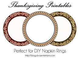 thanksgiving napkin rings thanksgiving craft projects