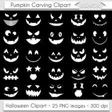 scary halloween clipart black and jack o lantern silhouette clipart clipartxtras