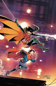 Yj Anon Meme - super sons robin damian wayne superboy jonathan kent super