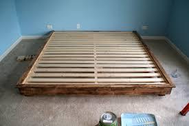 make king platform bed impressive king bed frame with drawers