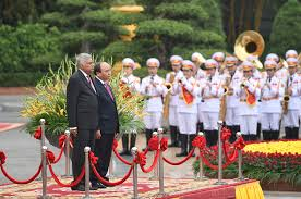 pictures official welcoming ceremony for sri lankan pm u2013 vietnam