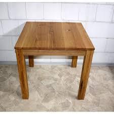 Esszimmertisch Massiv Eiche Vollholz Küchentisch Tisch Klein 80x80 Eiche Massiv Geölt Bei