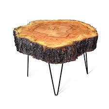 live edge round table live edge sugar maple hairpin leg round coffee table urban