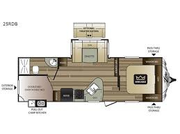 Bunkhouse Trailer Floor Plans Keystone Cougar X Lite Travel Trailer