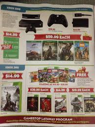 x box black friday leaked gamestop black friday flyer has xbox one on page 2 ps4 on