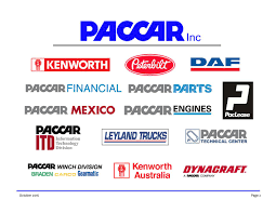 paccar canada paccar inc 2016 q3 results earnings call slides paccar inc