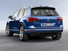 automotive database volkswagen touareg