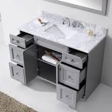 Overstock Vanity Virtu Usa Caroline 48 Inch Single Sink Bathroom Vanity Set