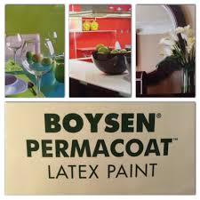 boysen permacoat latex paint is a 100 acrylic latex paint with