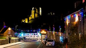 Lake Belton Christmas Lights by Corfe Castle Becomes A Winter Wonderland At Christmas National