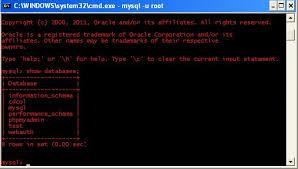 membuat database lewat cmd membuat database data mahasiswa dengan xampp mysql menggunakan cmd