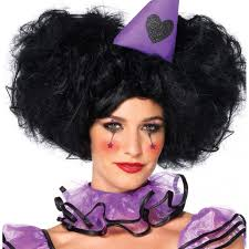 plus size halloween costumes on sale black bob wig with detachable side puffs cosplay halloween wigs