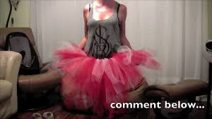 No Sew Project How To - how to make a cheap no sew ballerina tutu diy craft project
