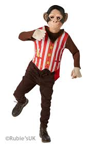 curious george monkey fancy dress boys circus world book day kids