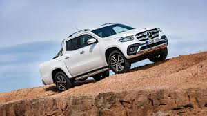 mercedes 6 wheel pickup 2018 mercedes benz x class pickup debuts europe gets a stunner