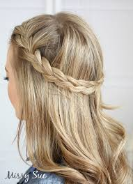 plait at back of head hairstyle braid 17 french braid tie back