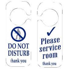 d o chambre b 10 x panneau do not disturb chambre veuillez service commercial