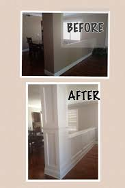 before and after moldings for the home pinterest moldings