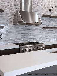 Modern White Gray Subway Marble Backsplash Tile - Marble backsplashes