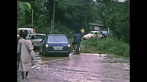 mitsubishi black old lagos nigeria africa 1976 vintage historical footage driving