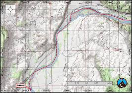 Ruby Map Floating Ruby And Horsethief Canyons Colorado River Road Trip Ryan