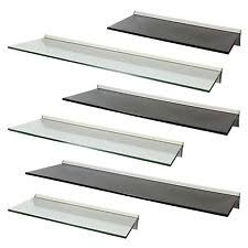 Wall Shelf Bathroom Glass Wall Shelves Ebay