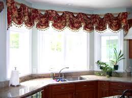 extraordinary modern kitchen curtains home designs bay ideas