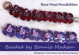 rose bead bracelet images Rose petal bracelets submitted by bonnie madsen starman bead jpg