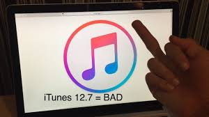 itunes 12 7 the worst itunes update ever youtube