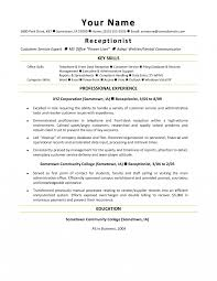 front desk resume sle customer service representative job description for resumes yun56 co
