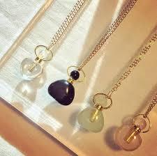 bottle necklace images Chloe gemstone perfume bottle necklace the sage lifestyle jpeg
