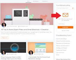 email list building strategies newsletter2go