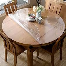 clear table top protector amazon com ostepdecor custom 2mm thick crystal clear table top