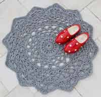 over 50 free crochet rug patterns and tutorials at allcrafts net