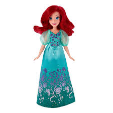 disney princess royal shimmer ariel doll disney princesses