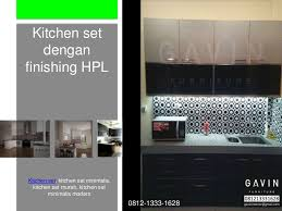 furniture kitchen set kitchen set dengan berbagai model terbaru