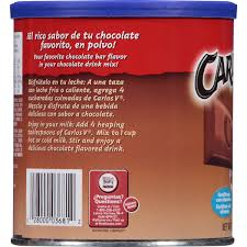 nestle carlos v chocolate flavored drink mix 14 1 oz canister
